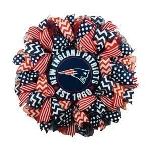 New England Patriots Wreath