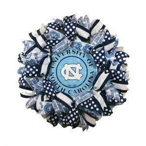 UNC Wreath