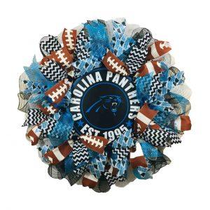 Carolina Panthers Wreath
