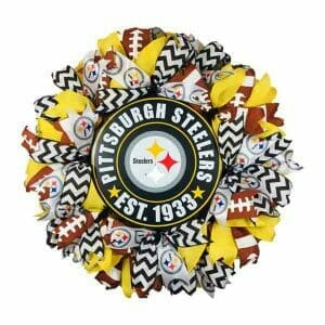 Pittsburgh Steelers Wreath