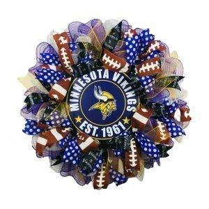 Minnesota Vikings Wreath