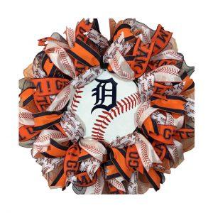 Detroit Tigers Wreath