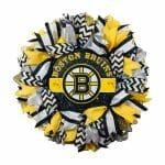 Boston Bruins Wreath
