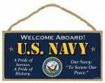 US Navy Sign