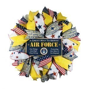 Air Force Door Wreath