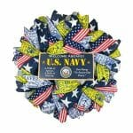 US Navy Door Wreath