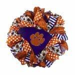 Clemson Tigers Wreath
