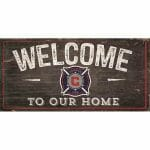 Chicago Fire Welcome Sign