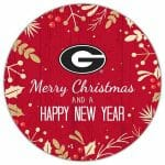 Georgia Bulldogs Christmas Sign