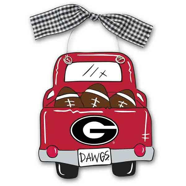 Georgia Bulldogs Truck Ornament