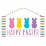 Easter Peeps Sign