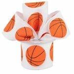 Canvas Basketball Ribbon