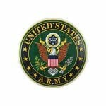 US Army Round Sign