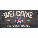 Chicago Cubs Welcome Sign