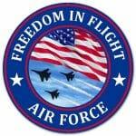 USAF Round Sign