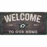 Dallas Stars Welcome Sign