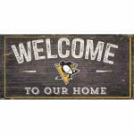 Pittsburgh Penguins Welcome Sign