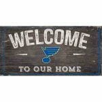 St Louis Blues Welcome Sign
