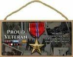 US Military Veteran Sign
