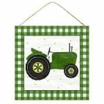 Green Tractor Sign