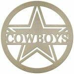 Dallas Cowboys Wood Cutout Shape