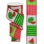 Watermelon Pattern Ribbon