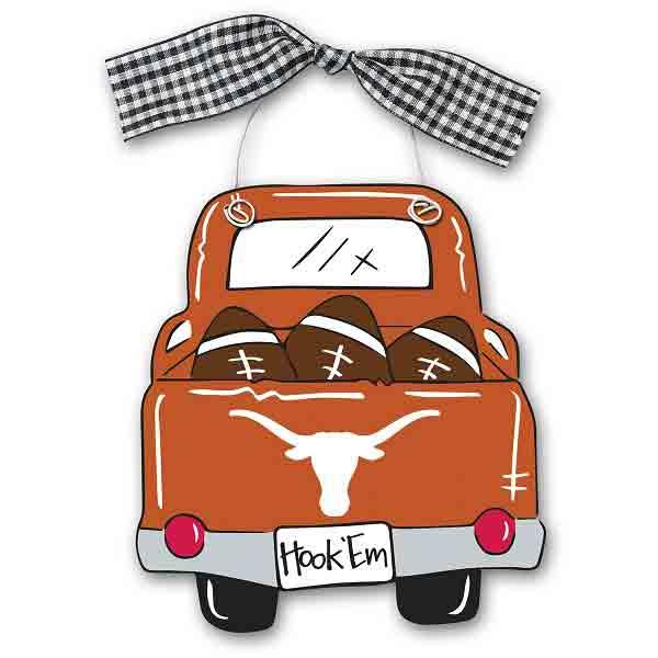 Texas Longhorns Truck Ornament