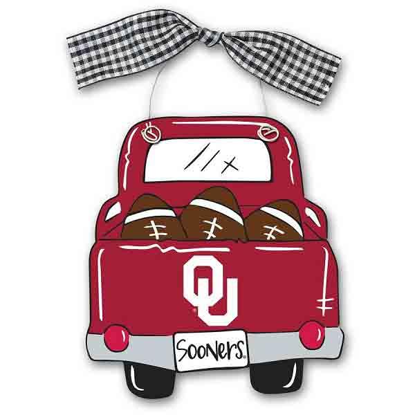 Sooners Truck Ornament