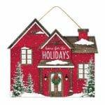 Christmas House Sign