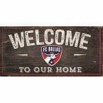 FC Dallas Welcome Sign