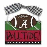 Alabama Football Ornament