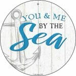 By the Sea Round Sign